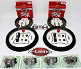 Complete FRONT Brake Rebuild KIT (Includes Shoes, Wheel Cylinders, Hardware) for 1993-2000 Honda TRX 300 Fourtrax 4x4