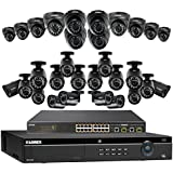 Lorex 4K 32 Channel 4MP Security System NR9326 6TB HDD 32 Camera system with 20 4MP LNB4421B Bullet Cameras 12 4MP LNE4422B Dome Cameras with color night vision