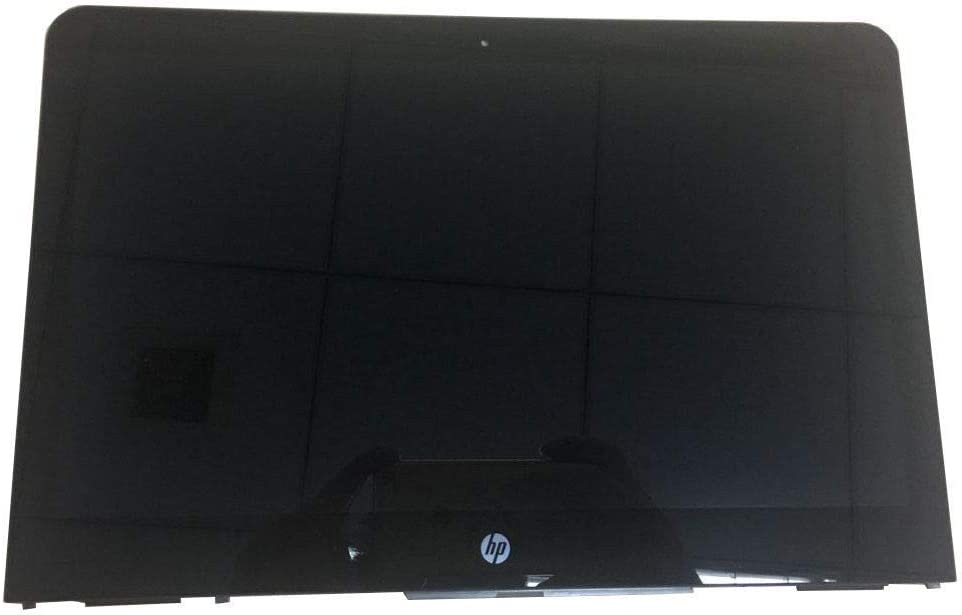 """Screen Expert 13.3"""" FHD 1920x1080 LCD Panel Replacement LED Touch Screen Display with Bezel Frame Assembly for HP Pavilion X360 Convertible 13-U165NR 13-U1XX 13-U124CL 13-U157CL P/N: 856019-001"""
