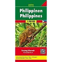 Philippinen, Autokarte 1:900.000, freytag & berndt Auto + Freizeitkarten