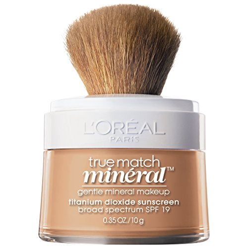 Match Natural - L'Oréal Paris True Match Loose Powder Mineral Foundation, Natural Buff, 0.35 oz.