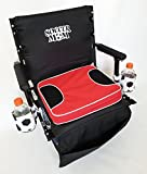 SAME DAY SHIPPING--Oasis SOCCER MOM Stadium Seat w/ Removable Cushion and BASEBALL DRINK HOLDERS-----HEAVY DUTY