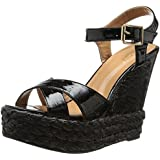 Wanted Shoes Women's Brandy Wedge Sandal