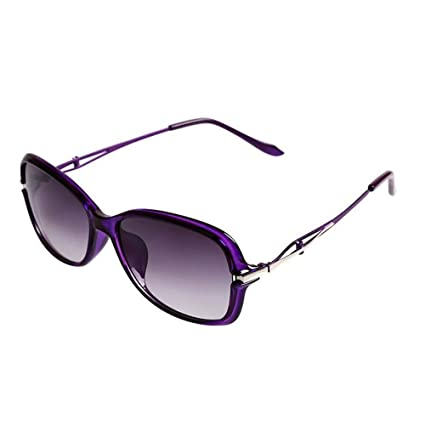 Gafas de sol Marea gafas de sol gafas de sol polarizadas Mujer retro Caja pequeña carita