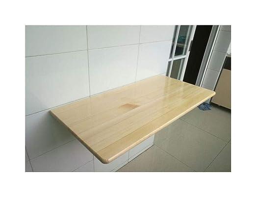 Mesa plegable de pared Escritorio montado en la pared, mesa ...