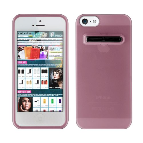 Katinkas Stand Soft Case für Apple iPhone 5 rosa