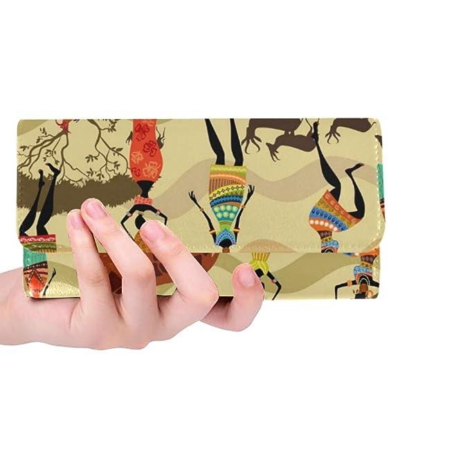 Unique Custom Texture African Women Women Trifold Wallet ...