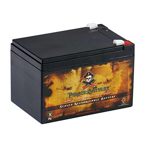 12V 12AH Sealed Lead Acid (SLA) Battery for F2 APC SUVS650 BP1000 RBC6 UPS