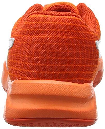 Puma Veloz Indoor NG Jr, Zapatillas Deportivas Para Interior Unisex Niños Naranja (Shocking Orange-white-cherry Tomato)