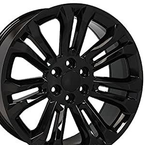 amazon oe wheels 22 inch fits chevy silverado tahoe gmc sierra 2014 Chevrolet Avalanche Lengh truck suv