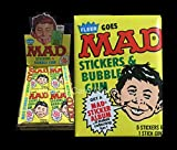 #7: 1983 Fleer MAD Magazine Stickers Series 1 Pack with GumVERY RARE