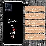 CASEARTIST Realme 8 Pro Cover – Jaan hai THU marilovecuple Designer Printed Slim Back Case Cover for Realme 8 Pro