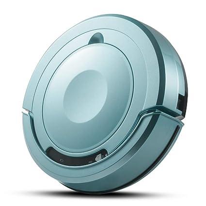 LIYAN Robot Aspirador Remolque aspiración Tipo 1300 Pa succión 7.5cm barredora doméstica,Blue