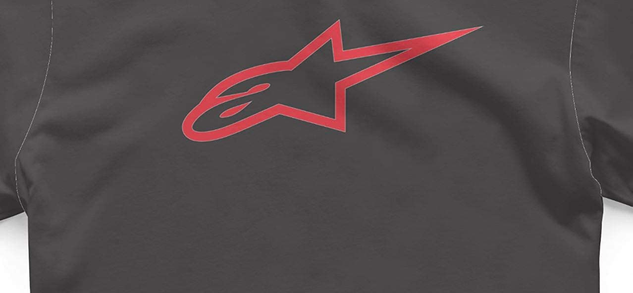 Alpinestars Mens T-Shirt ~ Ageless Classic Black//red
