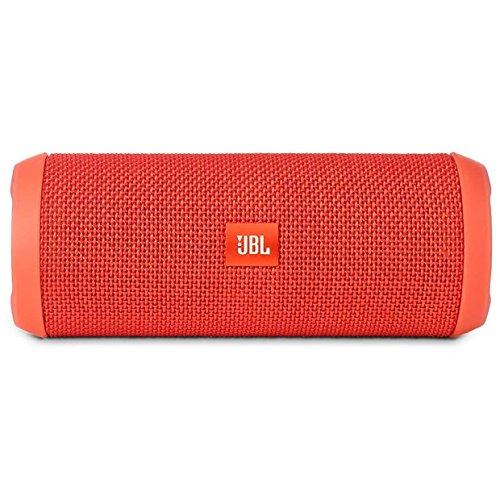 JBL Flip 3 Splashproof Portable Bluetooth Speaker - Orange (Certified Refurbished)