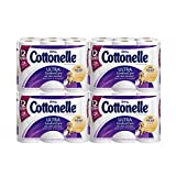 Cottonelle Ultra Comfort Care Toilet Paper, Double Roll, 12 Count (Pack of 4) by Cottonelle