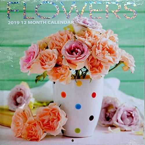 Flowers 12-Month 2019 Wall Calendar by Greenbrier