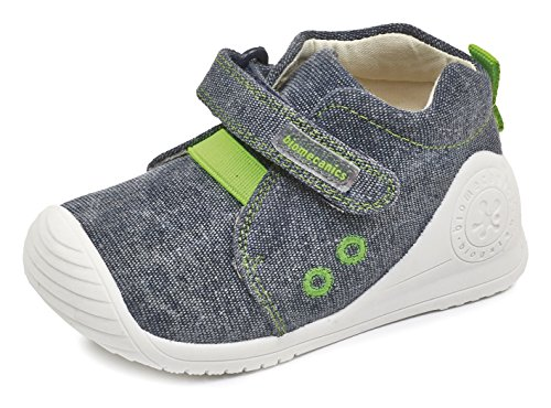 Biomecanics 172157, Zapatillas infantiles de lona para niña, color rosa, talla 21 Varios colores (Azul Marino /     Verde )