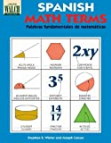 Spanish Math Terms, Stephen S. Winter and Joseph Caruso, 0825122856