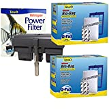 Whisper Tetra Power Filter 60 with One Year of Replacement Filter Cartridges Bundle