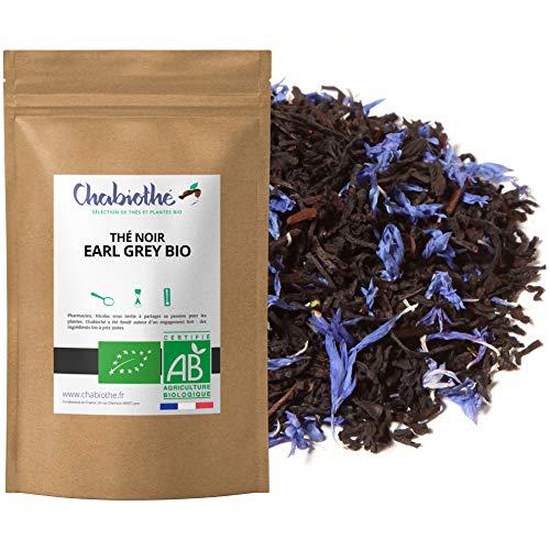 Te Negro Earl Grey BIO 200g - organico bergamota y flores de aciano - bolsa biodegradable