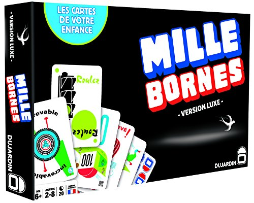 - Dujardin - Board Game - 1000 Bornes - Black Series - The Game of The Coup-Fourr茅