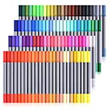 Best Color Markers - 100 Colors Marker Pens - Dual Tip Brush Review