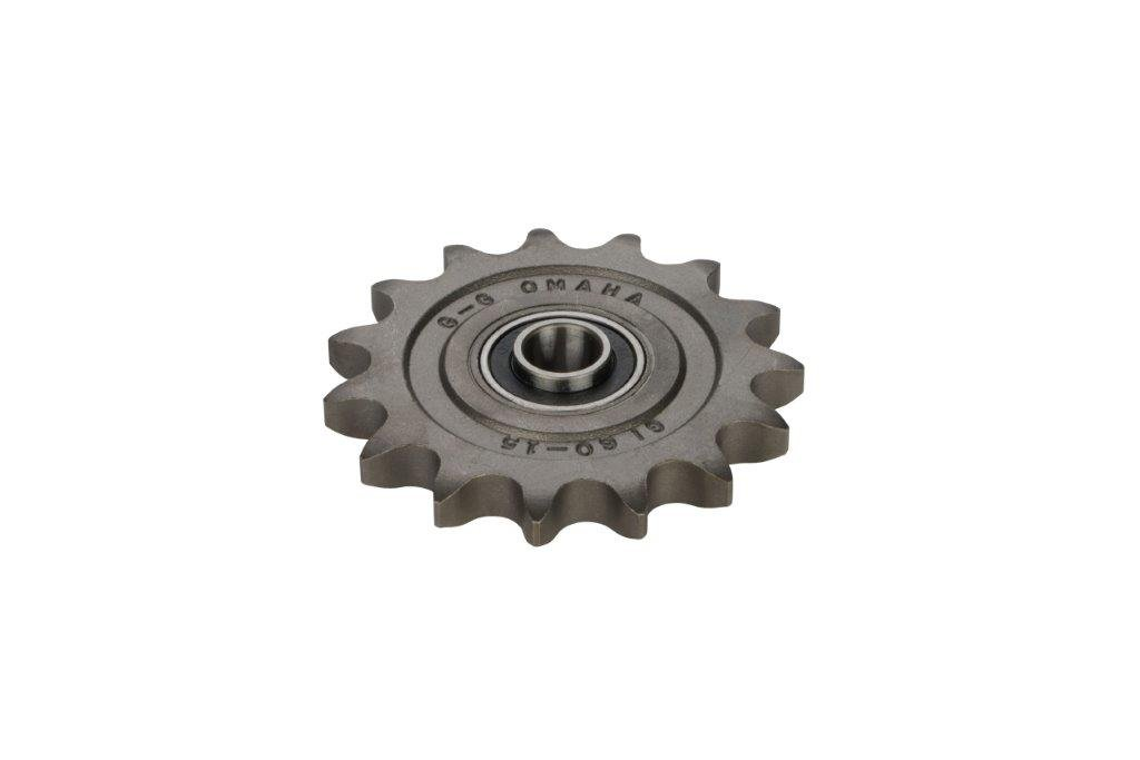 G & G Manufacturing Company 06011E10 6011E Idler Sprocket, 5/8'' Bore