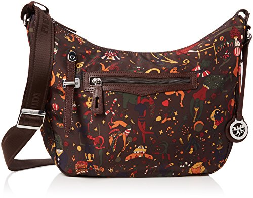 Shoulder bag Piero Guidi Magic Circus Nylon - large by Piero Guidi