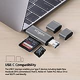 SD Card Reader, VOGEK 3-in-1 USB 3.0 / USB
