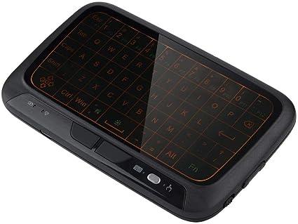 Air Mouse Keyboard, 2.4G Mini Teclado retroiluminado Teclado de PC Control Remoto para TV Box PC, Pad, Smart TV, HTPC, Android TV Box: Amazon.es: Electrónica