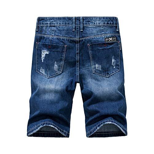 a023b237dd Jual Heart Yuxuan Men's Fashion Casual Denim Short - Denim | Weshop ...