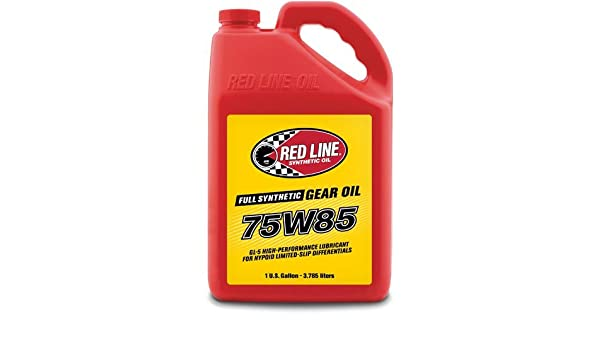 Red Line 50105 75 W85 GL-5 Gear aceite - 1 Gallon, 1 Pack: Amazon.es: Coche y moto