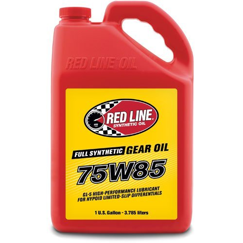 Red Line 50105 75W85 GL-5 Gear Oil, 1 Gallon, 1 ()
