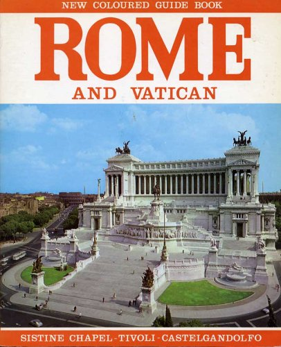 Rome and Vatican: New Coloured Guide Book (Import)