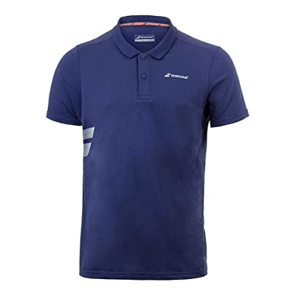 Babolat Core Poly Pique Polo Camiseta de tenis para hombre Casual ...