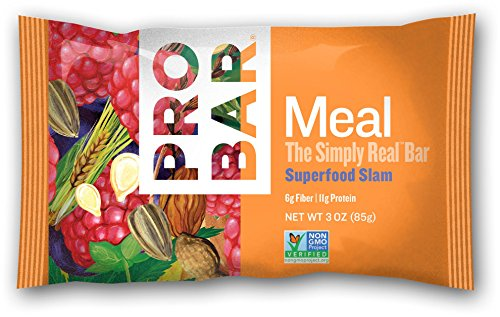 Probar Meal Simply Real Bar Superfood Slam 3 Ounce (12 Count)