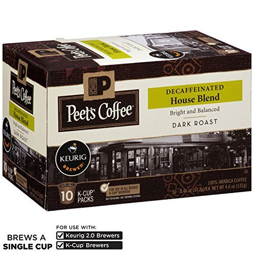Review Peet's Coffee K-Cup Decaf