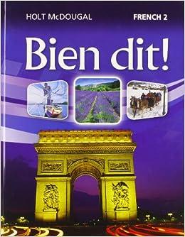Amazon.com: Bien dit!: Student Edition Level 2 2013 (French ...