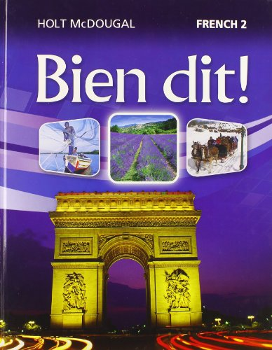 Holt French Level (Bien dit!: Student Edition Level 2 2013 (French Edition))