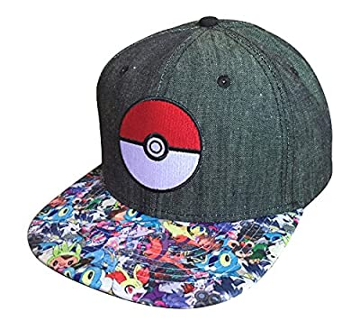 Pokemon Pokeball Snap Back Hat from Pok?mon