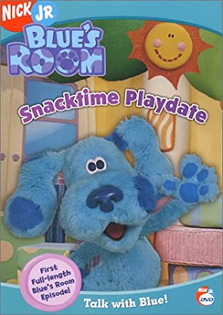 amazon com blue s clues blue s room snacktime playdate steve