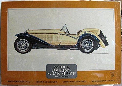 pocher-tyco-alfa-romeo-touring-spider-gran-sport-k73-kit-unstarted-1-8-scale