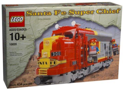 - Lego 10020 Train Santa Fe Super Chief