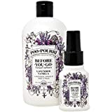 Poo-Pourri Lavender Vanilla 16-Ounce Refill Bottle,and 1.4-Ounce Lavender Vanilla