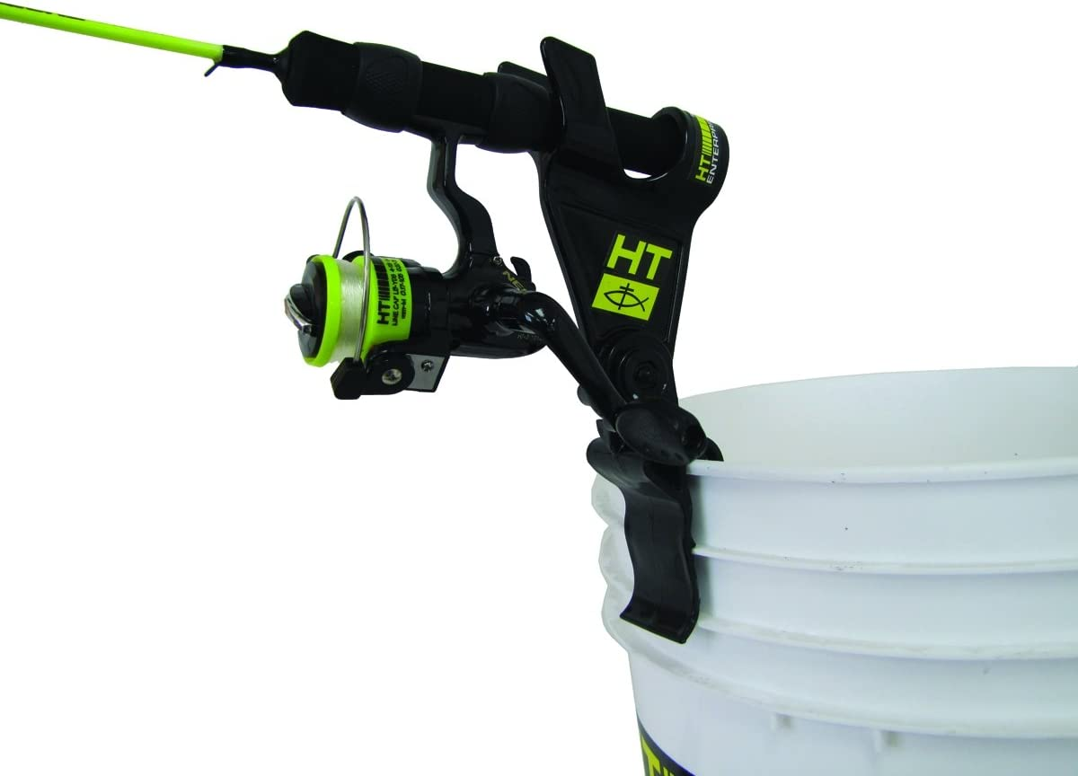 HT RBH-100 Clamp-On Bucket Style Rod Holder