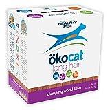 ökocat Natural Wood Cat Litter, 13.5-Pound, Clumping for Long Hair Breeds