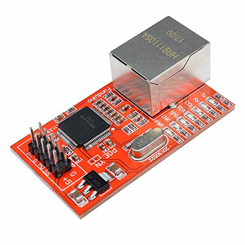 diymore Mini W5100 LAN Ethernet Shield Network Board Module for Arduino Ethernet UNO Mega 2560 by diymore (Image #5)