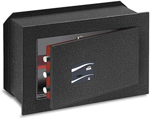 SCE18M271 Caja Fuerte de Empotrar 18 mm con Llave, 27.1 L Volumen: Amazon.es: Industria, empresas y ciencia