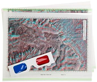 American Educational 4 Piece 3-D Aerial Transparencies Basic Set